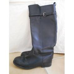 Reitstiefel, Stiefel im Reiter-Look Zara