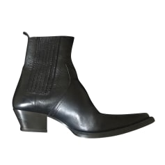 Cowboy Ankle Boots Saint Laurent