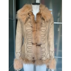 Manteau en cuir Yves Salomon  pas cher