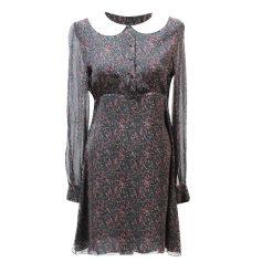 Midi-Kleid Saint Laurent