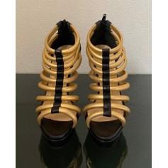 Sandales à talons Christian Louboutin  pas cher