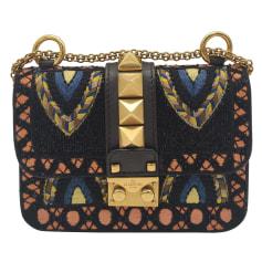 Schultertasche Leder Valentino Glam lock