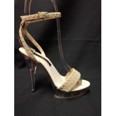 Sandales compensées Pleaser  pas cher