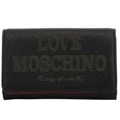 Sac pochette en cuir Love Moschino  pas cher