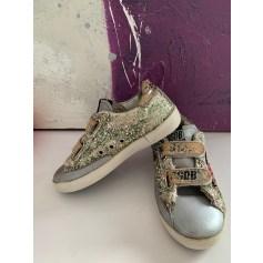 Chaussures à scratch Golden Goose  pas cher