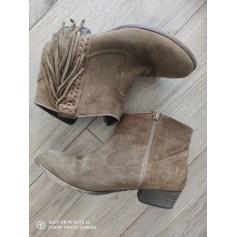 Santiags, bottines, low boots cowboy André  pas cher