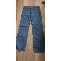 Pantalon très evasé, patte d'éléphant Promod  pas cher