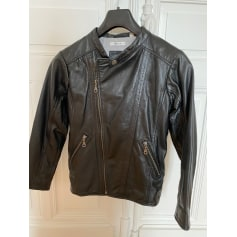 Leather Zipped Jacket Marèse