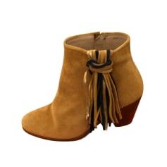 Bottines & low boots à talons Bobbies  pas cher