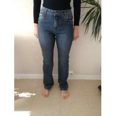 Jeans droit   pas cher