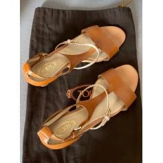 Sandales compensées Tod's  pas cher