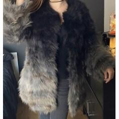 Manteau en fourrure Sensation Folie  pas cher