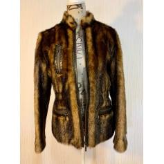 Manteau en fourrure Balmain  pas cher