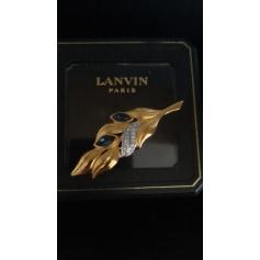 Broche Lanvin  pas cher