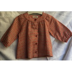 Blouse, Short-sleeved Shirt Moulin Roty