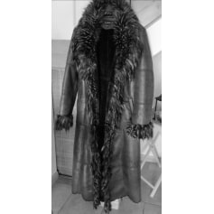 Manteau en fourrure Comme du Vrai  pas cher