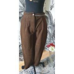 Pantalon carotte Yuka  pas cher