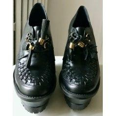 Bottines & low boots à compensés Sans Marina  pas cher