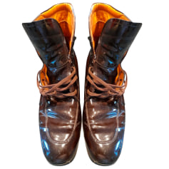 Bottines & low boots plates Tod's  pas cher