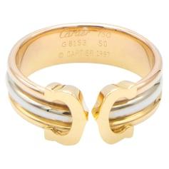 Bague Cartier Double C pas cher