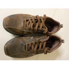 Chaussures à lacets Skechers  pas cher