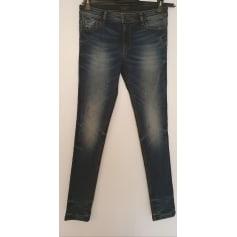 Jeans slim Redskins  pas cher