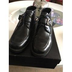 Bottines & low boots plates Naf Naf  pas cher
