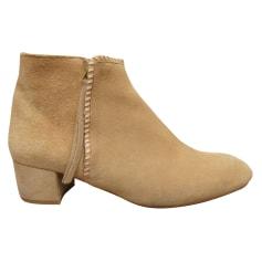 Bottines & low boots à talons Maje  pas cher