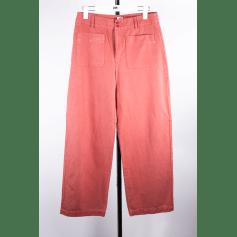 Pantalon évasé Des Petits Hauts  pas cher
