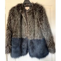 Manteau en fourrure H&M  pas cher