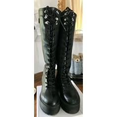 Bottines & low boots à compensés Aline  pas cher