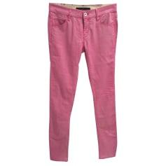Pantalon slim, cigarette Calvin Klein  pas cher