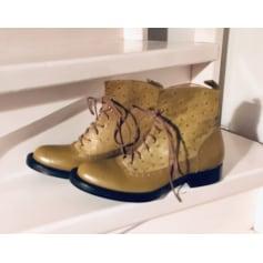 Bottines & low boots plates Dior B23 pas cher