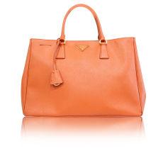 Lederhandtasche Prada Galleria