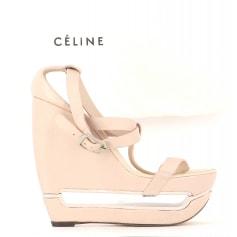 Flache Sandalen Céline