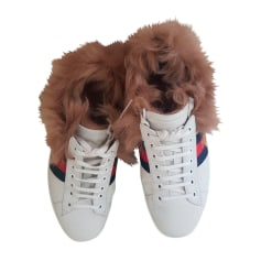 Baskets Gucci Ace pas cher