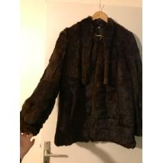 Manteau en fourrure Fourreur  pas cher