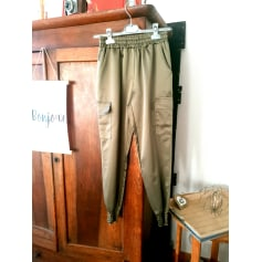 Pantalon carotte Made In Italie  pas cher