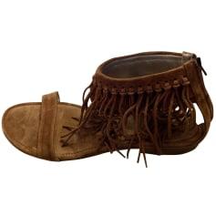 Sandales plates  Free Lance  pas cher