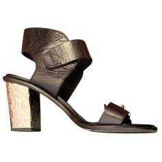 Sandales à talons Alexander McQueen  pas cher