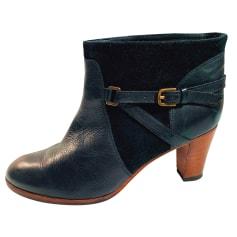 High Heel Ankle Boots Comptoir Des Cotonniers