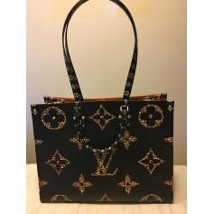 Sac XL en cuir Louis Vuitton Onthego pas cher