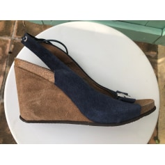 Sandales compensées Scholl  pas cher