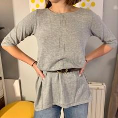 Robe tunique Claudie Pierlot  pas cher
