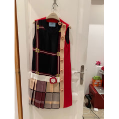 Robe mi-longue Prada  pas cher
