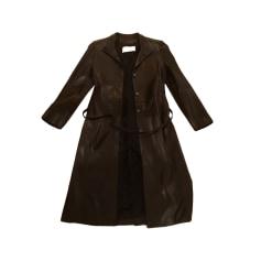 Manteau en cuir Et vous  pas cher