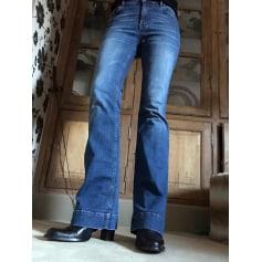 Jeans évasé, boot-cut Ikks  pas cher