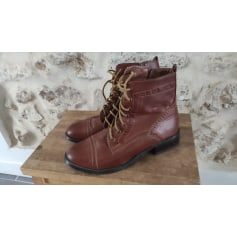 Bottines & low boots plates New Look  pas cher