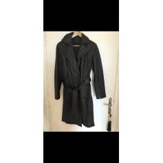 Manteau en cuir Zara  pas cher