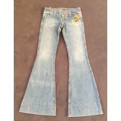 Jeans très evasé, patte d'éléphant Juicy Couture  pas cher